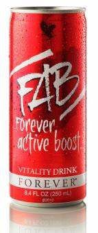 Energy drink, 12 x Forever Active Boost ™ 321, 12x250 ml, plus 3.00 € Pfand
