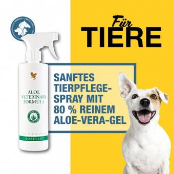 Aloe Vera Tierpflege Spray, Aloe Veterinary Formula 30, 473 ml