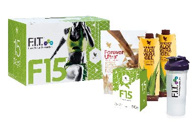 Aloe Vera Nutritional Set Chocolate, Forever F15 Chocolate 982, 15 Days
