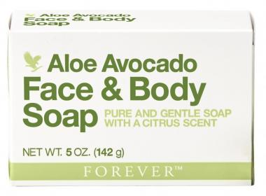 Avocado Face / Body Soap, Face & Body Soap 284, 142 g