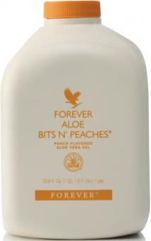 Aloe Vera Drinking Gel Peach, Aloe Bits N 'Peaches 77, 1l