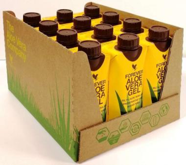 Forever Aloe Vera Gel (99.7%) pure inner leaf aloe vera gel 715, 1l