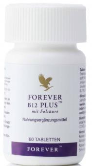 Vitamin B12 und Folsäure Tabletten, B12 Plus 188, 60 Stück