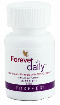 Vitamin & Mineral tablets Forever daily 439, 60 pcs.
