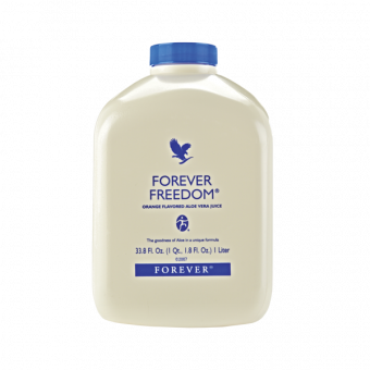 Aloe Vera Gel (89%), Forever Freedom, Orange & Glucosamin, 1 l