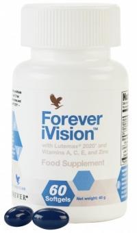 Vitaminsoftgele, Forever iVision, 60 Stk.