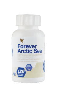 Fischöl Kapseln, Forever Arctic Sea 376, 120 Stk.