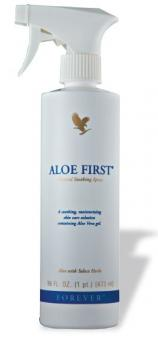 Aloe Vera Spray, Aloe Vera First Spray 40, 473 ml
