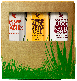 Forever Aloe Vera Gel™ Tripack Mix 3 liters