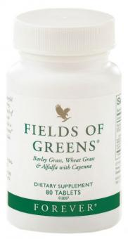 Ballaststoff Tabletten, Fields of Greens 68, 80 Stk.