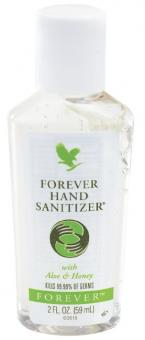 Aloe Vera Hand disinfectant, Forever Hand Sanitizer 318, 59 ml