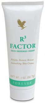 Aloe Vera Cream, R³ Factor Skin Defense Cream 69, 56.7 g