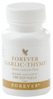 Thyme Garlic Capsules, Forever Garlic-Thyme 65, 100 Stk.