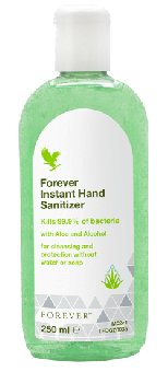 Aloe Vera Hand Sanitizer, Forever Hand Sanitizer 003, 250 ml