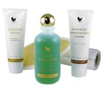 Aloe Vera Cellulite Care Set, Aloe Body Toning Kit 55, 5 tlg.