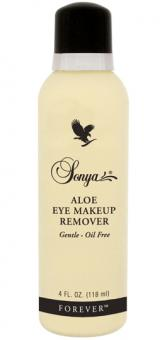 Aloe Vera Makeup Remover, Sonja Eye Makeup Remover 186, 118 ml