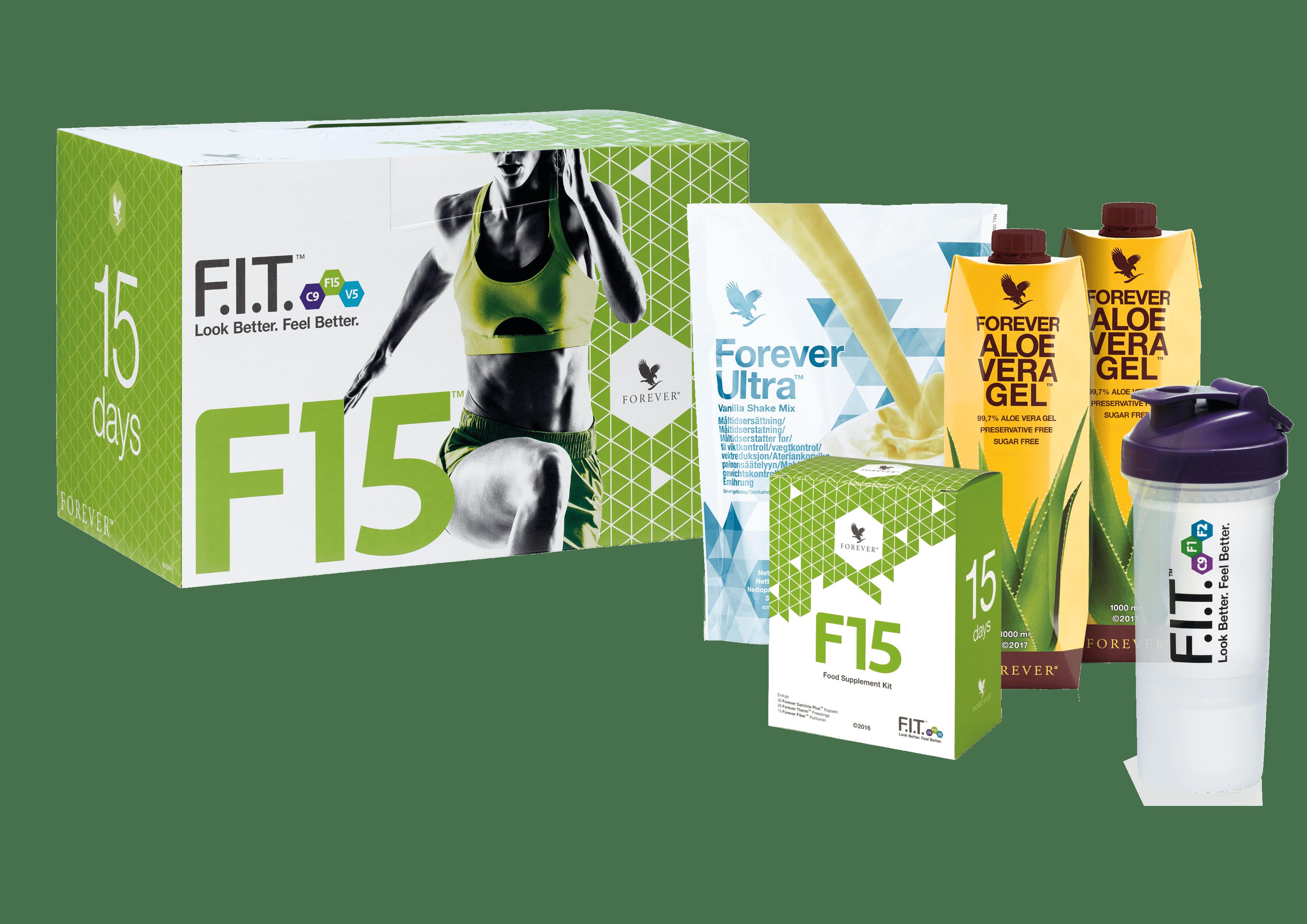 Aloe Vera Nutrition Set Vanilla, Forever F15 Vanilla 979, 15 days.    naturlex.de