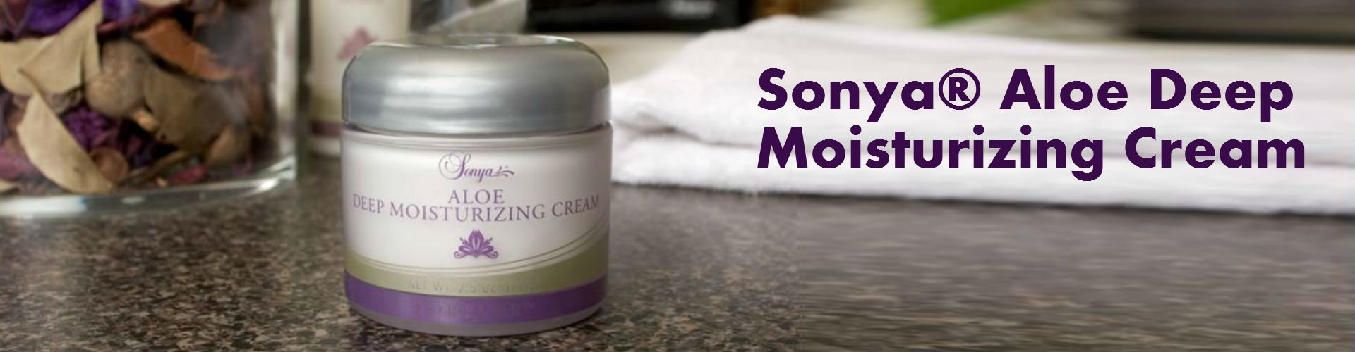 Aloe Vera Feuchtigkeitscreme, Deep Moisturizing Cream 311