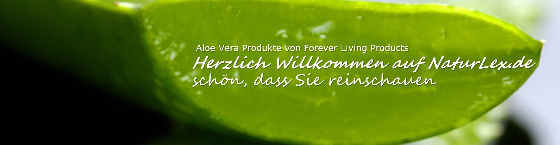 Aloe Vera Gel Produkte von Forever Living Products - FLP